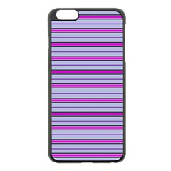 Color Line 4 Apple Iphone 6 Plus/6s Plus Black Enamel Case by jumpercat