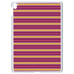 Color Line 5 Apple Ipad Pro 9 7   White Seamless Case by jumpercat