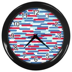 Fast Capsules 1 Wall Clocks (black) by jumpercat