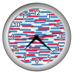 Fast Capsules 1 Wall Clocks (silver)  by jumpercat