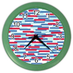 Fast Capsules 1 Color Wall Clocks by jumpercat