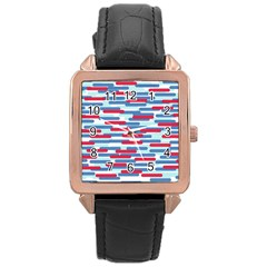 Fast Capsules 1 Rose Gold Leather Watch  by jumpercat