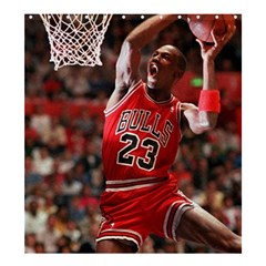 Michael Jordan Shower Curtain 66  X 72  (large)  by LABAS