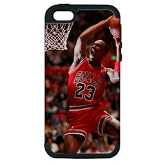 Michael Jordan Apple Iphone 5 Hardshell Case (pc+silicone) by LABAS