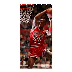 Michael Jordan Shower Curtain 36  X 72  (stall)  by LABAS