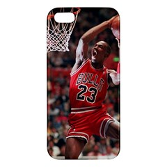 Michael Jordan Apple Iphone 5 Premium Hardshell Case by LABAS