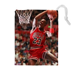 Michael Jordan Drawstring Pouches (extra Large) by LABAS