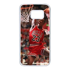 Michael Jordan Samsung Galaxy S7 White Seamless Case by LABAS