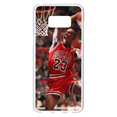 Michael Jordan Samsung Galaxy S8 Plus White Seamless Case