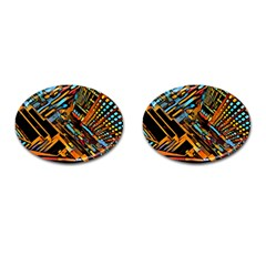 City Scape Cufflinks (oval) by 8fugoso