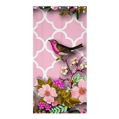 Shabby Chic,floral,bird,pink,collage Shower Curtain 36  X 72  (stall)  by 8fugoso