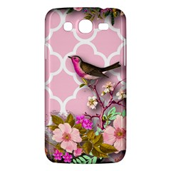 Shabby Chic,floral,bird,pink,collage Samsung Galaxy Mega 5 8 I9152 Hardshell Case  by 8fugoso