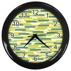 Fast Capsules 2 Wall Clocks (black) by jumpercat