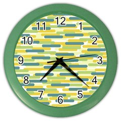 Fast Capsules 2 Color Wall Clocks by jumpercat