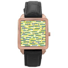 Fast Capsules 2 Rose Gold Leather Watch  by jumpercat