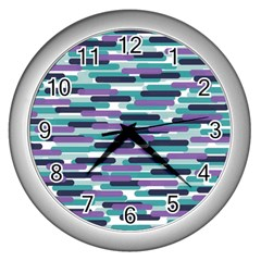Fast Capsules 3 Wall Clocks (silver)  by jumpercat