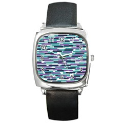 Fast Capsules 3 Square Metal Watch by jumpercat