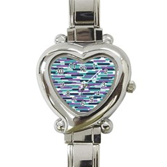 Fast Capsules 3 Heart Italian Charm Watch by jumpercat