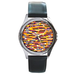 Fast Capsules 4 Round Metal Watch by jumpercat