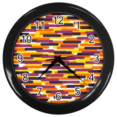 Fast Capsules 4 Wall Clocks (black) by jumpercat
