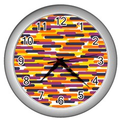 Fast Capsules 4 Wall Clocks (silver)  by jumpercat