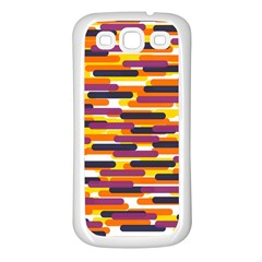 Fast Capsules 4 Samsung Galaxy S3 Back Case (white) by jumpercat