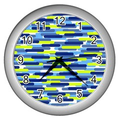 Fast Capsules 5 Wall Clocks (silver)  by jumpercat
