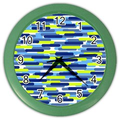 Fast Capsules 5 Color Wall Clocks by jumpercat
