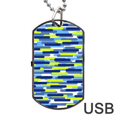 Fast Capsules 5 Dog Tag Usb Flash (one Side) by jumpercat