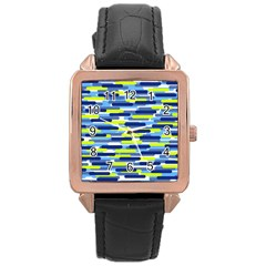 Fast Capsules 5 Rose Gold Leather Watch  by jumpercat