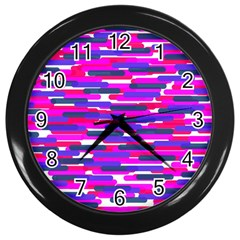 Fast Capsules 6 Wall Clocks (black) by jumpercat