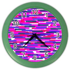 Fast Capsules 6 Color Wall Clocks