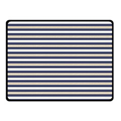 Royal Gold Classic Stripes Double Sided Fleece Blanket (small)  by jumpercat
