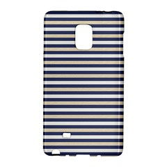 Royal Gold Classic Stripes Galaxy Note Edge