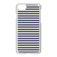 Royal Gold Classic Stripes Apple Iphone 7 Seamless Case (white)