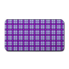 Purple Tartan Medium Bar Mats