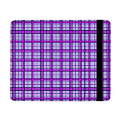 Purple Tartan Samsung Galaxy Tab Pro 8 4  Flip Case