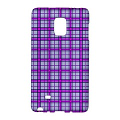 Purple Tartan Galaxy Note Edge