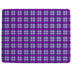 Purple Tartan Jigsaw Puzzle Photo Stand (rectangular) by jumpercat