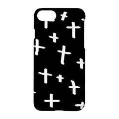 White Cross Apple Iphone 8 Hardshell Case by snowwhitegirl