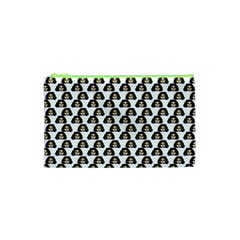 Angry Girl Pattern Cosmetic Bag (xs) by snowwhitegirl