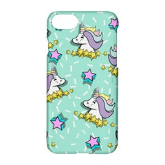 Magical Happy Unicorn And Stars Apple Iphone 7 Hardshell Case by allthingseveryday