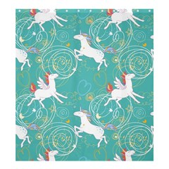 Magical Flying Unicorn Pattern Shower Curtain 66  X 72  (large)  by allthingseveryday