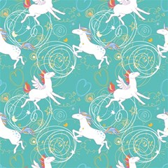 Magical Flying Unicorn Pattern Magic Photo Cubes by allthingseveryday