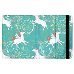 Magical Flying Unicorn Pattern Apple Ipad 3/4 Flip Case by allthingseveryday