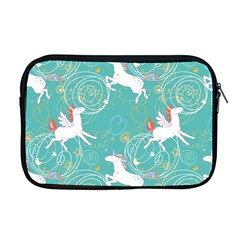 Magical Flying Unicorn Pattern Apple Macbook Pro 17  Zipper Case by allthingseveryday