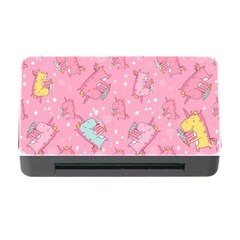 Unicorns Eating Ice Cream Pattern Memory Card Reader With Cf by allthingseveryday