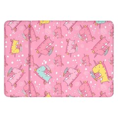 Unicorns Eating Ice Cream Pattern Samsung Galaxy Tab 8 9  P7300 Flip Case by allthingseveryday