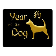 Year Of The Dog   Chinese New Year Fleece Blanket (small) by Valentinaart