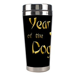 Year Of The Dog   Chinese New Year Stainless Steel Travel Tumblers by Valentinaart